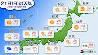 天気予報(共同通信社)